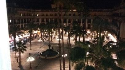 Nice view over Plaza Real in Barcelona Contra Banda Radio