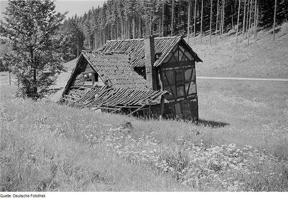 Letzte Schleifkote von Steinbach