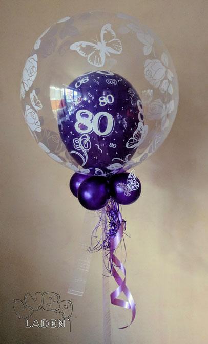 Geschenkballon mit Ballongas