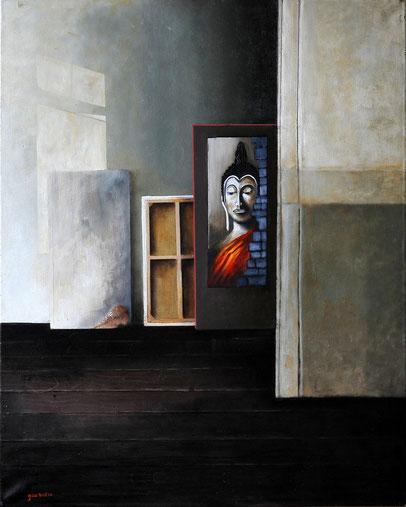 Intrincesitas  , oil on canvas, 1mx O,80m    Prijs: 750 euro inc btw