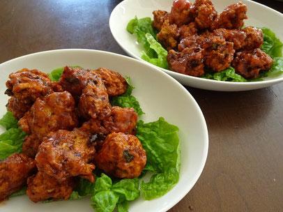 鶏肉団子のケチャップ煮