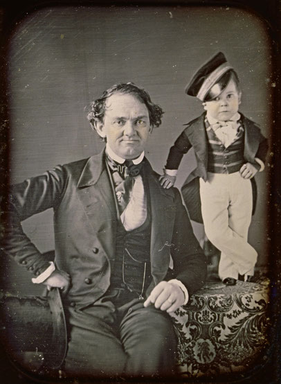 バーナムとトム・サム(1850年)