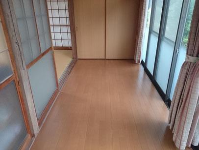 S寺和室改修工事(上関町)