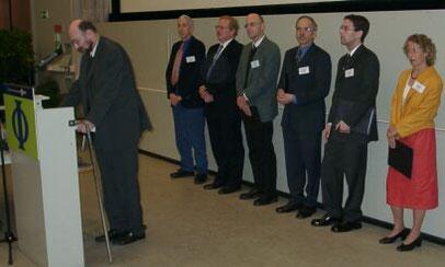 Verleihung der DPG-Preise 2003