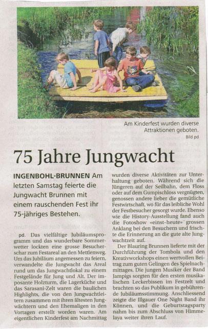 Bote der Urschweiz; 11.09.2014