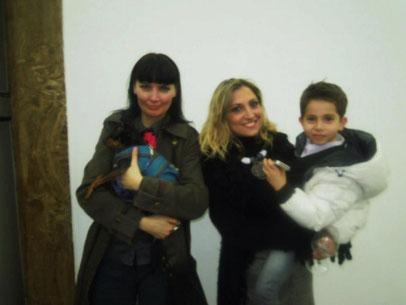 con Anna Clemente