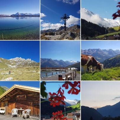 Frühstückspension Bergkristall in Tux - neueste Bilder Hintertuxer Gletscher und Tuxertal