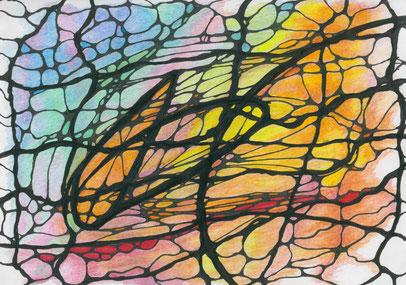 Neurographik Entladung eines Konfliktes