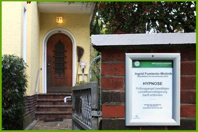Eingang Hypnosepraxis