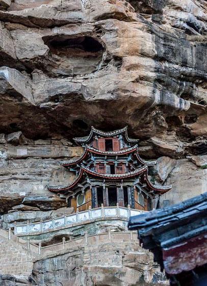 Tempel von Baoxiang temple Shaxi
