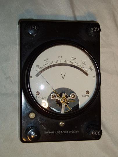 Gossen  Wevometer - Voltmeter Wechselspannung