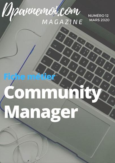 fiche métier Community manager à montpellier
