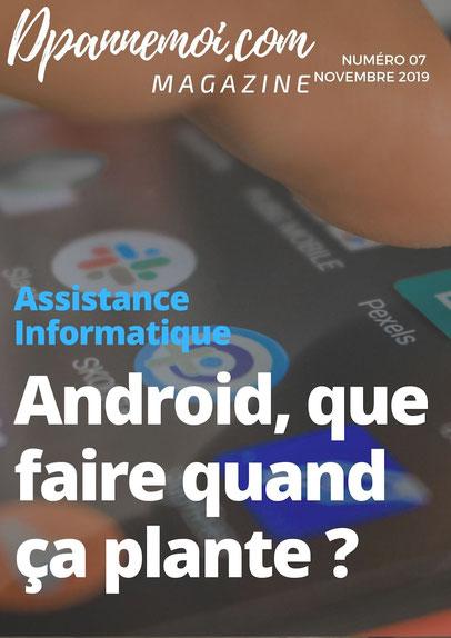 Android que faire si une application plante ?