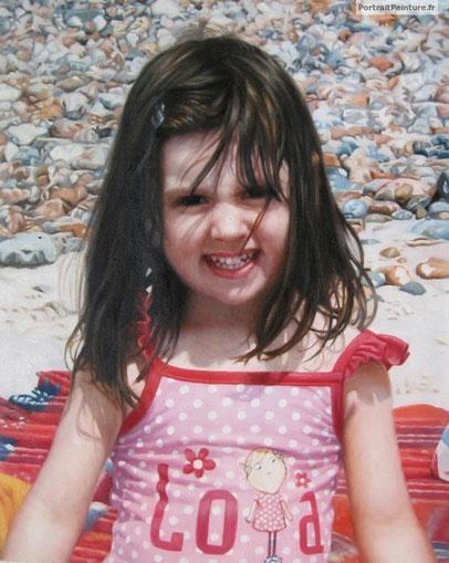 portrait-peinture-fillette-enfant
