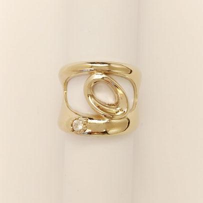 gioielli biancopunto anello snow ring