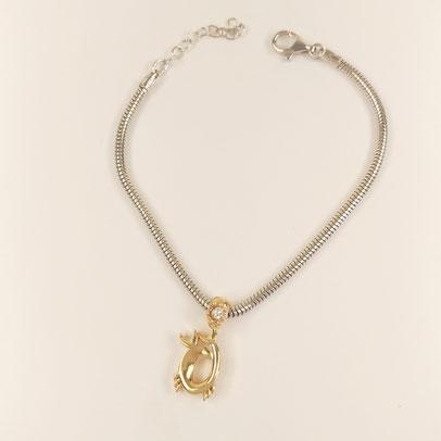gioielli biancopunto jewels zodiac charm cancro