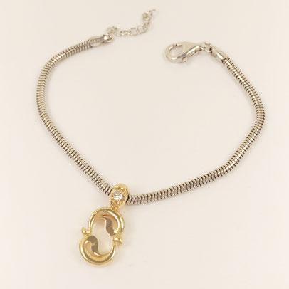 gioielli biancopunto jewels zodiac charm pesci