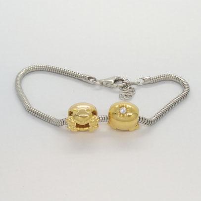 gioielli biancopunto jewels charm gattino
