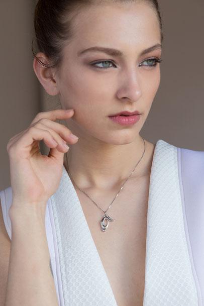 gioielli biancopunto jewels zodiaco segni zodiacali ciondolo capricorno