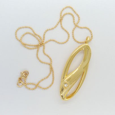 gioielli biancopunto jewels pendente infinity