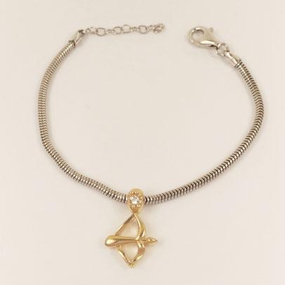 gioielli biancopunto jewels zodiac charm sagittario