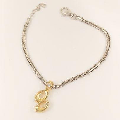 gioielli biancopunto jewels zodiac charm gemelli