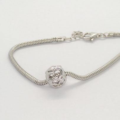 gioielli biancopunto jewels charm cuori