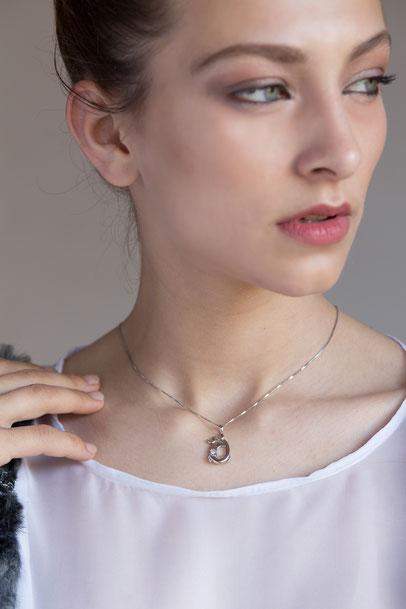 gioielli biancopunto jewels zodiaco segni zodiacali ciondolo cancro