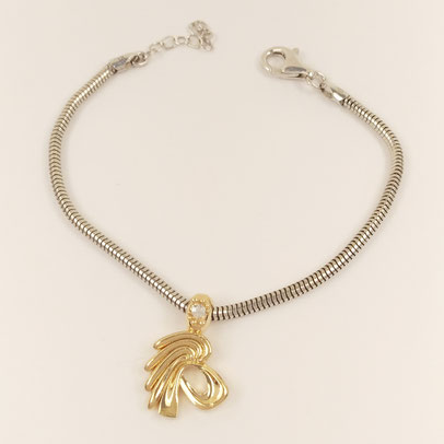 gioielli biancopunto jewels zodiac charm leone
