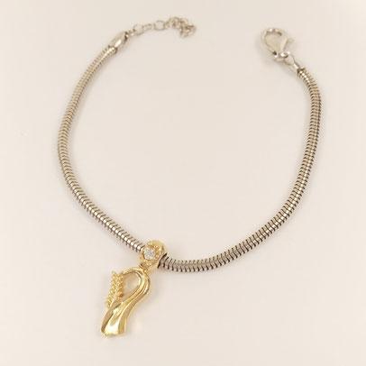 gioielli biancopunto jewels zodiac charm vergine