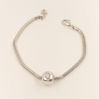 gioielli biancopunto jewels charm cubo