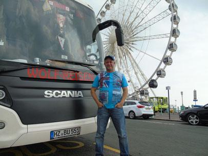 Steffen Riek - Bussi am Brighton Pier