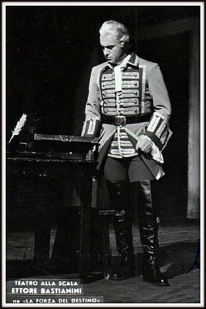 Don Carlo di Vargas - LA FORZA DEL DSTINO - Milano Teatro alla Scala 10.1.1961