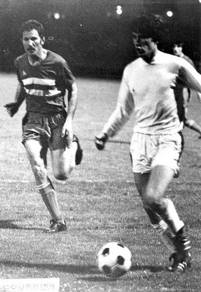 Jean-Marc GUILLOU à la lutte avec C.SAVKOVIC