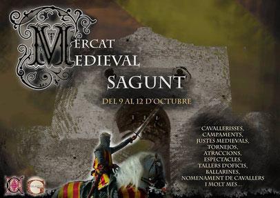 Programa del Mercado Medieval en Sagunto