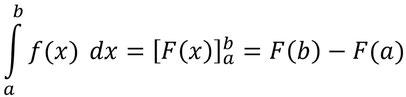Allgemeine Form eines bestimmten Integrals