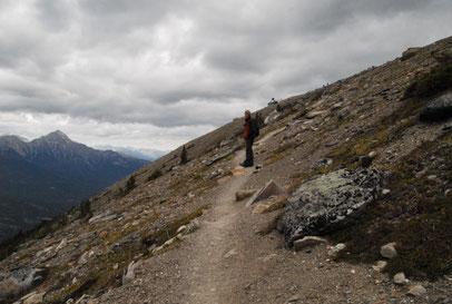 Aufstieg zum Mt. Whistler