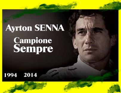 1994-2014 Tribute Ayrton Senna