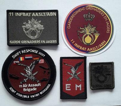 patches 11 LMB emblemen.