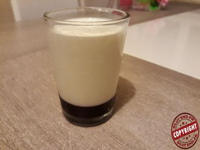 recette panna cotta coulis myrtilles sans GLO