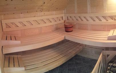 Bild: Saunabereich Ferienhaus Fini