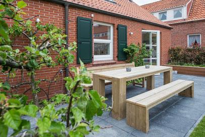 Urlaub auf Juist - Gartenhuus für 6 Personen