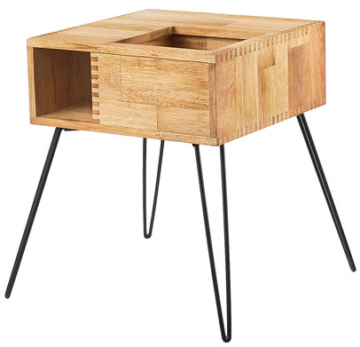 Retro plant table wood, European Consumers Choice