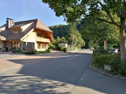 Rezeption des Campingplatzes Münstertal
