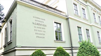 Würzburg Geheimtipps: Das Röntgenhaus