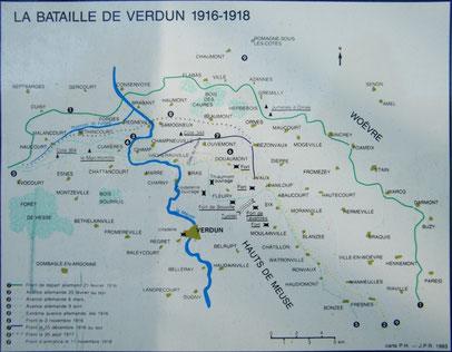 Karte Infotafel