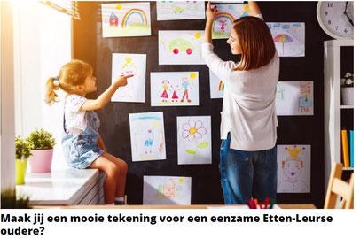 Slakkenpost.nl - Kaartje voor eenzame Etten-Leurse