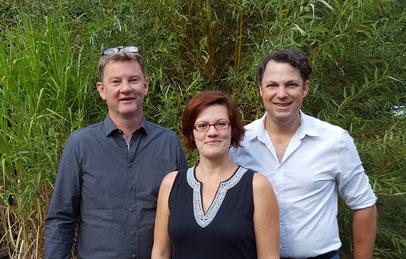 das team-sabrina odebrecht-rené daubern-harry scharpenberg