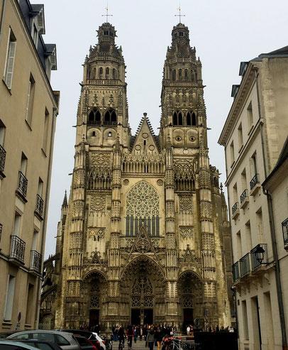 Cattedrale di Tours la Gatienne Francia