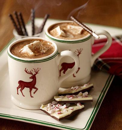 новогодний утренний кофе